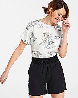 Slouch Linen Rich Shorts