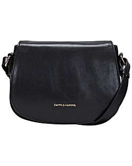 Smith & Canova Cross Body Saddle Bag