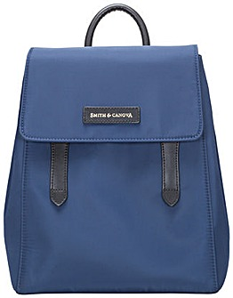 Smith & Canova Nylon Structured Backpack