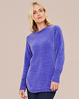 Julipa Chenille Round Neck Jumper