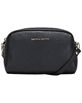 Smith & Canova Small Soft Leather Zip