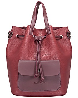 Claudia Canova Gaya Drawstring Bucket Bag