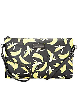 Claudia Canova Banana Print Crossbody / Clutch