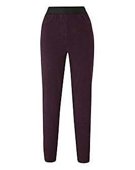 Cord Stretch Leggings Regular