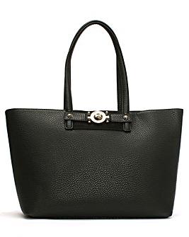 Versace Jeans Large Pebbled Shopper Bag