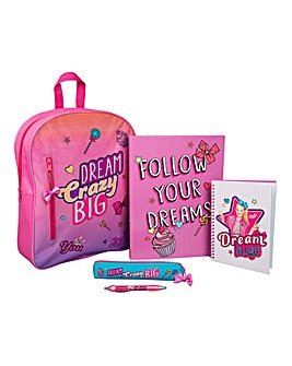 JoJo Siwa Filled Backpack Set