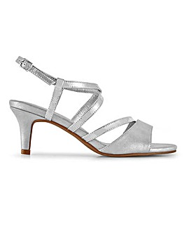Strappy Occasion Sandals Extra Wide EEE Fit