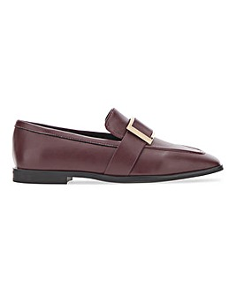 Square Trim Loafer on Flexi Sole Extra Wide EEE Fit