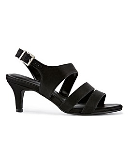 Strappy Slingback Sandals Extra Wide EEE Fit
