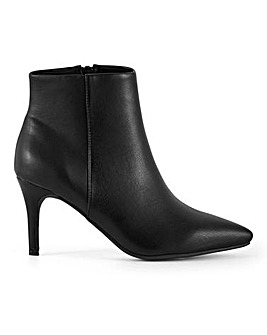Ultimate Comfort Flexi Sole Pointed Toe Ankle Boots Wide E Fit