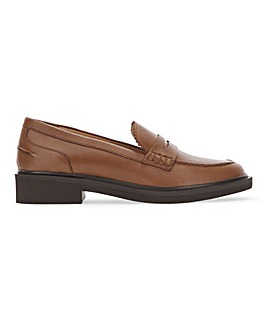 Lightweight Leather Penny Loafer Extra Wide EEE Fit