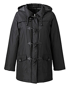 Padded Duffle Jacket with Hood