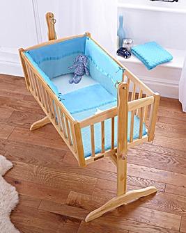 Clair de Lune Waffle 2 Piece Crib Set