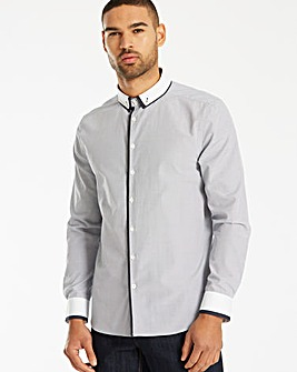 Jacamo Black Label LS Gingham Shirt L
