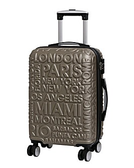 IT Luggage City Names Cabin Suitcase