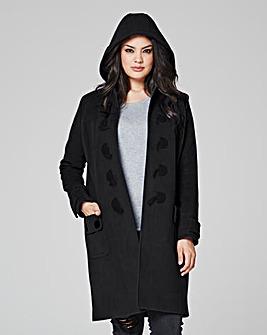 Plain Duffle Coat Length 37ins