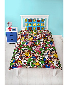 Mario Gang Single Rotary Duvet