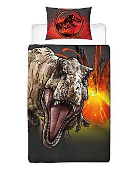 Jurassic World Trex Single Panel Duvet