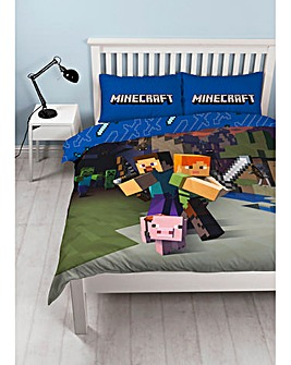 Minecraft Goodguys Double Panel Duvet
