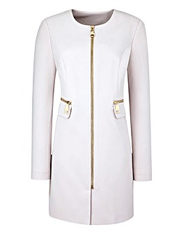 Zip Detail Coat
