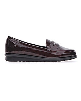 Cushion Walk Patent Loafers EEE Fit