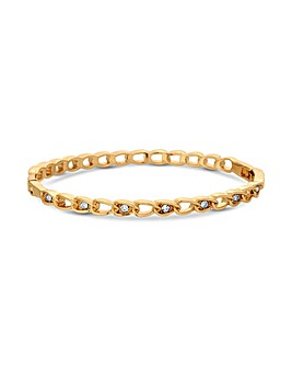 Jon Richard Rose Crystal Link Bangle