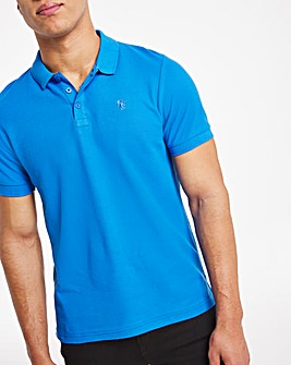 Jacamo Embroidered Polo