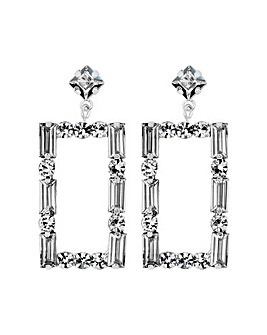 MOOD By Jon Richard Rectangle Earring