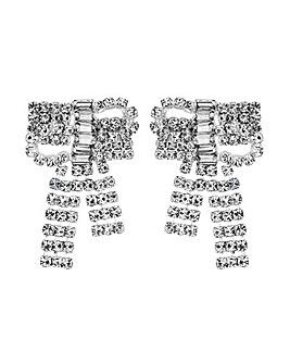 MOOD By Jon Richard Crystal Bow Earring