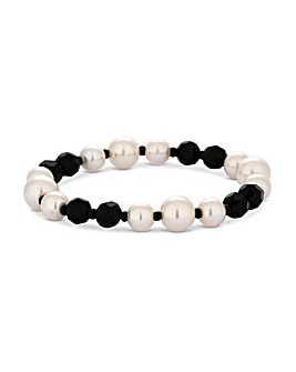 Jon Richard Pearl Stretch Bracelet