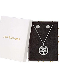 Jon Richard Silver Filagree Disc Set