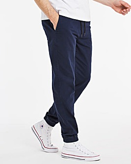 Stretch Cuffed Chinos