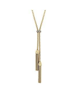 Jon Richard Polish Tassel Long Necklace