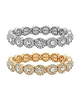 MOOD By Jon Richard Halo Bracelets