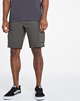 Khaki Fully Elasticated Axel Shorts