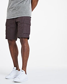 Charcoal Fully Elasticated Axel Shorts