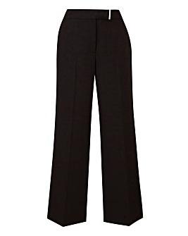 Workwear Wide Leg Trousers Petite