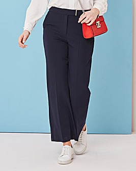 Tailored Wide Leg Trousers Petite