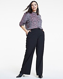 Workwear Wide Leg Trousers
