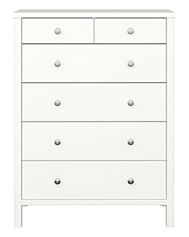 Devon 2+4 Drawer Chest