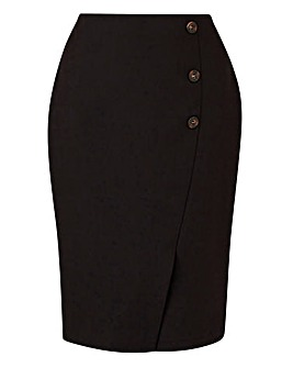 Tailored Pencil Skirt Petite