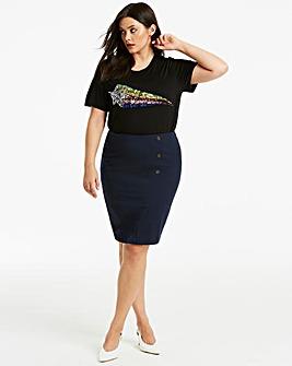 Workwear Pencil Skirt