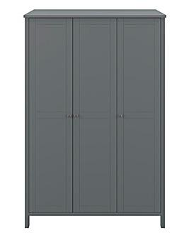 Devon 3 Door Wardrobe