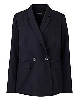 Workwear Longline Blazer Petite
