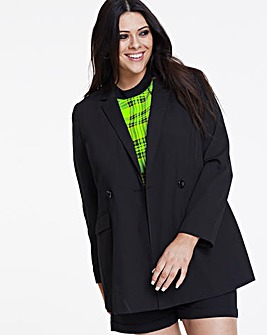 Workwear Longline Blazer