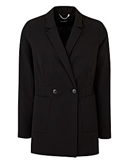 Tailored Double Breasted Blazer Petite