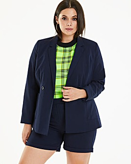 Tailored Double Breasted Blazer