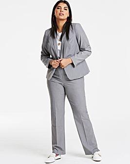 Tailored Shawl Collar Short Blazer