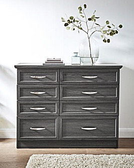 Kingston 4+4 Drawer Wide Chest