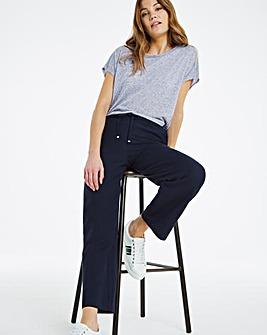 Linen Mix Trousers Short